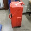 Red Nomadic Rolling Hard Trade Show Case