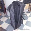 Black Hockey Bag with Wheels Trade Show Carry Case