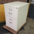 Hon Beige 2 Drawer Vertical Filing Cabinet