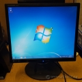 "LG L1942PE-BS 19"" Height & Pivot Adjustable LCD Monitor"