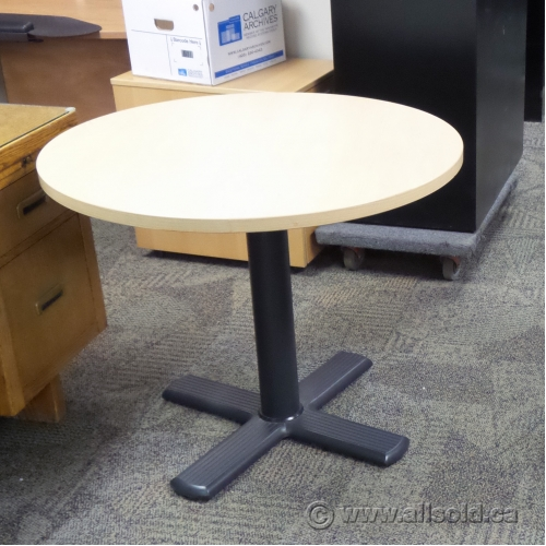 Blonde Round Conference Meeting Table Allsoldca Buy Sell - 36 round conference table