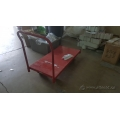 Red Heavy Duty Platform Truck Metal Cart 24x48 in