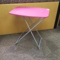 Pink Plastic Folding Table