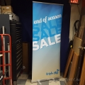 Mayaland Premium Retractable Banner w/ Stand and Carry Case
