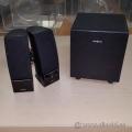 Insignia Black 2.1 Speaker System w/ Subwoofer