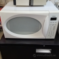 White Galaxy 1 cu. Model 87040 Household Microwave