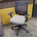 Tan Black Pattern Sit-On-It Seating Focus Task Chair