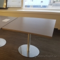 "Grey Square 36"" x 36"" Meeting Table"