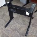 Ergotech Teknion Torsion Sit Stand Adjustable Desk Black Base