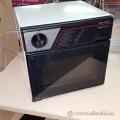 Black and Beige Sharp Half Pint Microwave