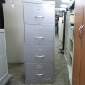 Steelcase Grey 4 Drawer Vertical Filing Cabinet