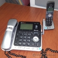 Black and Silver AT&T Bluetooth Office Phone
