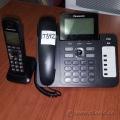 Black Panasonic KTX-TG6671C Desktop Office Phone
