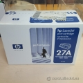HP 27A, Black Original Toner Cartridge (C4127A)