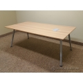 IKEA GALANT Conference Meeting Boardroom Table 6 FT w/ Powerfeed
