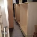 "Blonde 42"" Wide Storage Bookcase w/ Adjustable Shelves"