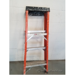 Sturdy Heavy - Duty 4 ft Step Ladder