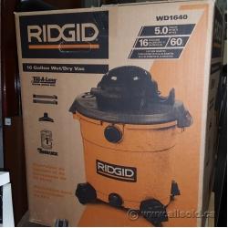 RIDGID 16 Gal. 5.0-Peak HP Wet Dry Shop Vac