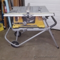 Rigid 15 amp 10-inch Heavy-Duty Portable Table Saw & Stand