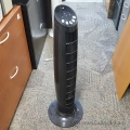 Black Intertek Multi Speed Oscillating Tower Fan
