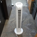 White Duracraft Oscillating Tower Fan