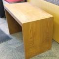 Small Oak Desk Shell 36x20x26 in. B Grade