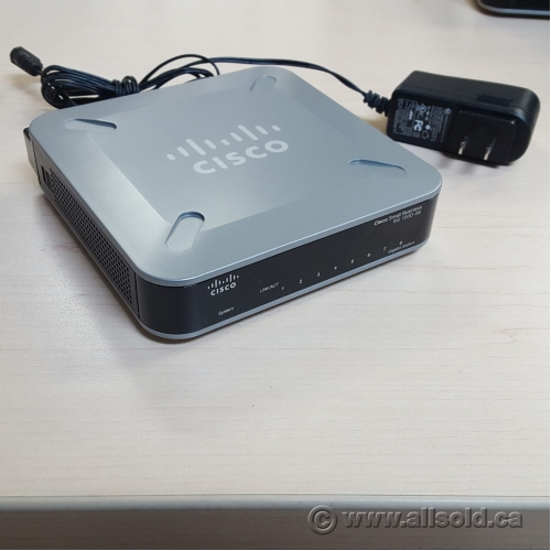 Cisco Small Business SG 100D-08 Network Switch 8 ports