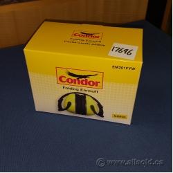 Yellow Condor Folding Earmuffs EM201FYW 24Db Reduction