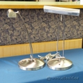 Brushed Nickel Desk Lamp