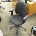 Hon Black Fabric Adjustable Task Chair