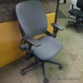 Steelcase Leap V2 Grey Ergonomic Task Chair w Arms 'B Grade'