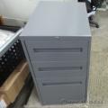 Teknion Grey 3 Drawer Under Desk File Pedestal 27'