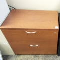 Wood 2 Drawer Lateral Storage File Cabinet