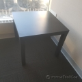Espresso Ikea Lack Dark Wood Side End Table