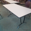 Steelcase Folding Laminated Modular Boardroom Training Table