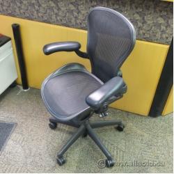 "Herman Miller Aeron ""A"" Size Mesh Ergonomic Task Chair"