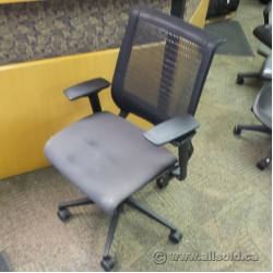 Black Steelcase Think Style Mesh Back Task Chair B Grade