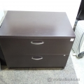 Artopex Espresso - 2 Drawer Lateral File Cabinet