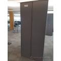 Steelcase Grey 2 Door Storage Wardrobe Cabinet w/ Rod, Locking