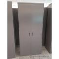 Steelcase Grey 2 Door Storage Wardrobe Cabinet, Locking