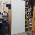 "96"" x 48"" Large Quartet Economy Whiteboard"