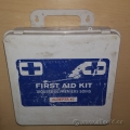 Small First Aid Kit Plastic Case and 4 Metal