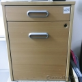 Blonde IKEA Galant 4 Drawer Pedestal