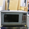 Commercial Grade Chrome Panasonic Microwave Oven