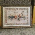 Framed Fruit Artwork Picture