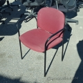 Red Stacking Fabric Chair