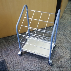 Rolling Wire Frame Boot Drying Storage Rack