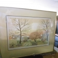 Blossoms in the Spring Golden Framed Artwork
