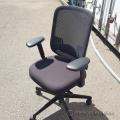 Black Teknion Projek Mesh Back Office Chair