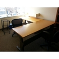 """Herman Miller Rounded Edge 48"""" Work Table Desk Surface"""
